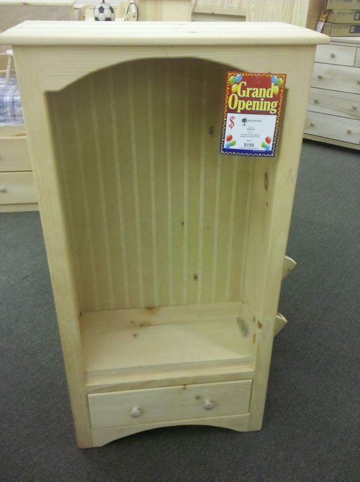 """Love this bookshelf from the unfinished furniture store because of the beadboarding in the back that matches the other furniture I bought. I can paint it whatever color I choose.  Comes in 48"""" and 60"""" high."""