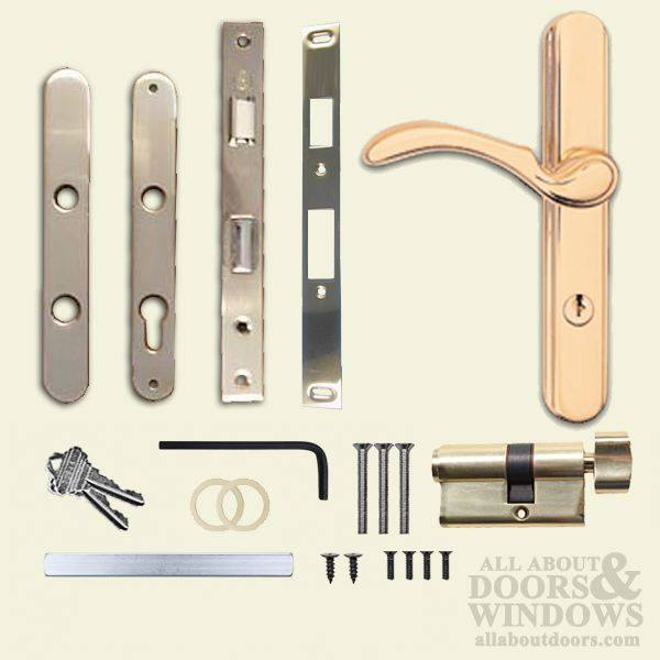302045pb andersen traditional storm door hardware polished brass all about doors and windows parts and hardware door locks pinterest storm door