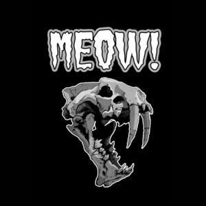 Sabertooth Meow T-shirt
