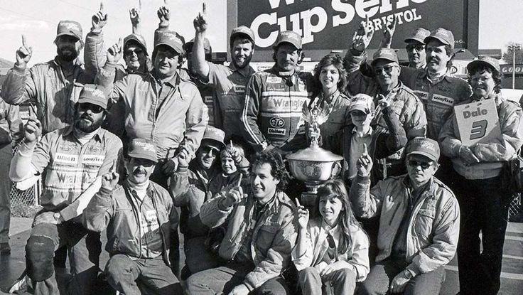 Dale Earnhardt Jr. Dale Earnhardt Bristol Victory Lane 1985