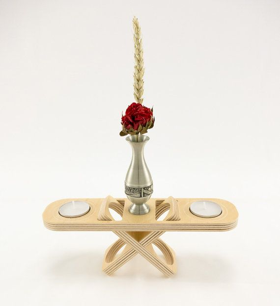 Style 04  Modern Candle Holder with Glass by KkornerInnovations, $14.00