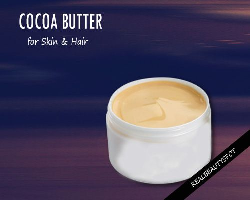 Nope, cocoa butter just does not give flavor to chocolates, cookies and biscuits. It is also amazing for your skin and hair. Since ages, cocoa...