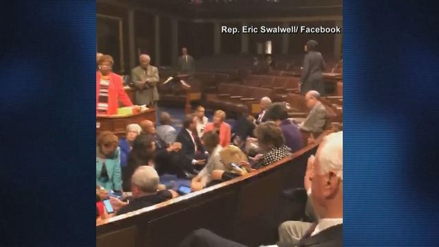 Somewhere around the seven-hour mark, Colorado Congressman Ed Perlmutter took a break from the sit-in Democrats were staging on the floor of the U.S. House of Representatives.