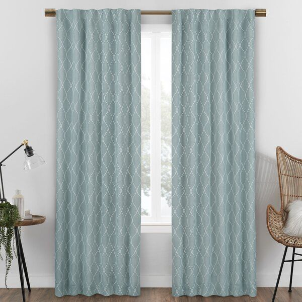 Bolton Max Blackout Rod Pocket Single Curtain Panel In 2020 Luxury Curtains Curtains Living Room Curtains Living Room Modern #teal #drapes #for #living #room