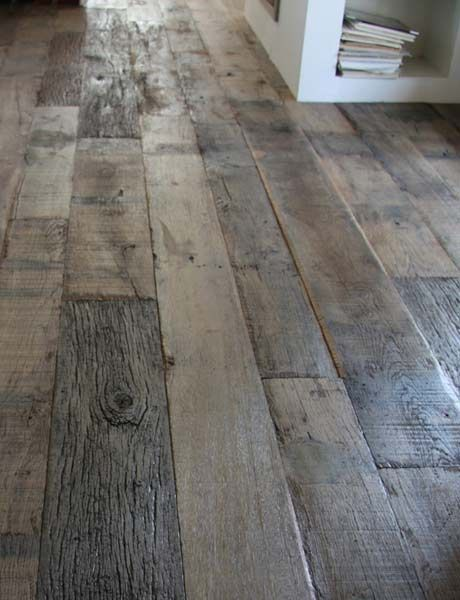 Exceptional Reclaimed Wood Floors.