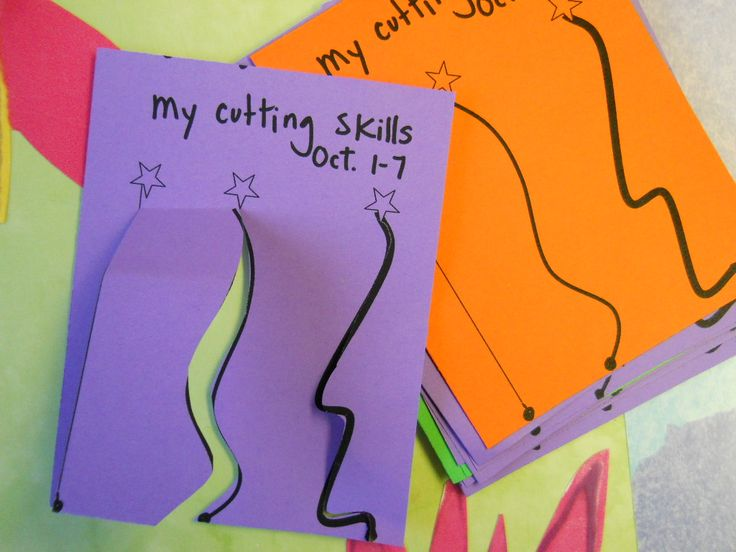 mini portfolio assessment on cutting skills...this could come in really handy