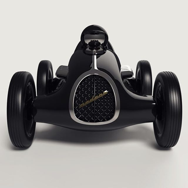 WEBSTA @ car_vintage - • Vintage toys for Vintage boys. Modena Grand Prix in gloss black. This head turner is another staggering concept from Playforever. This is where design and art meet. Have a look at the rest of their work @playforever •By @playforeverFor more info visit www.playforever.co.uk#playforever#toys #luxurytoys #art #cool #ferrari #mercedesbenz #porsche #bmw #bugatti #carporn #vintage #firstpost #first #elegance #lux #luxury #luxurycar #luxurylife #f4f #fashion #cars…