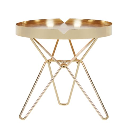 Spice Side Table - Gold