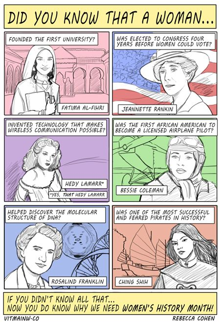 A history lesson in comic form?! We love it. Thanks to @Dena Avery for sharing this awesome piece by Rebecca Cohen!