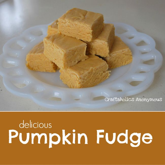 Pumpkin Fudge Recipe. This fudge is rich and seriously addictive! Tastes like creamy Pumpkin Pie, but without all the fuss.