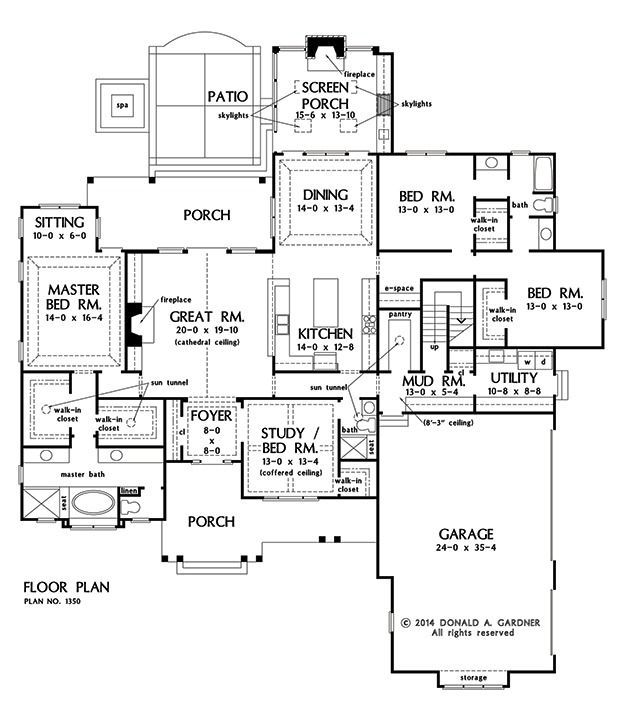 189 Best Images About One-Story Home Plans On Pinterest | House
