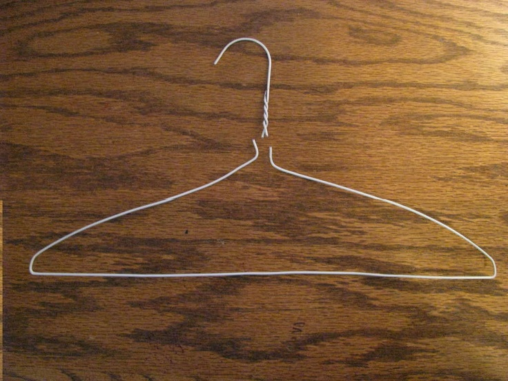 17 Uses for a wire coat hanger