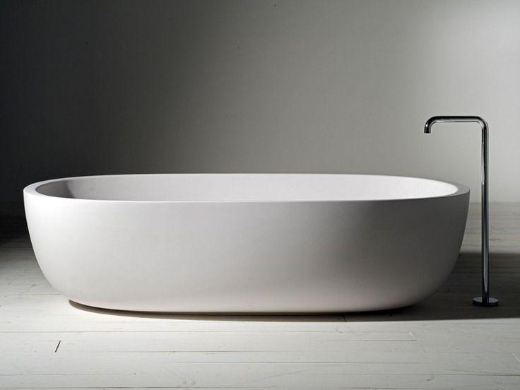 Scarica il catalogo e richiedi prezzi di vasca da bagno ovale in cristalplant® Iceland | vasca da bagno, design Piero Lissoni, collezione Vasche al produttore Boffi