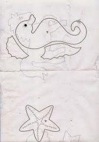 Menina de Pano   Blog: Moldes bichinhos do fundo do Mar