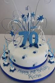 Image result for 70th birthday cake