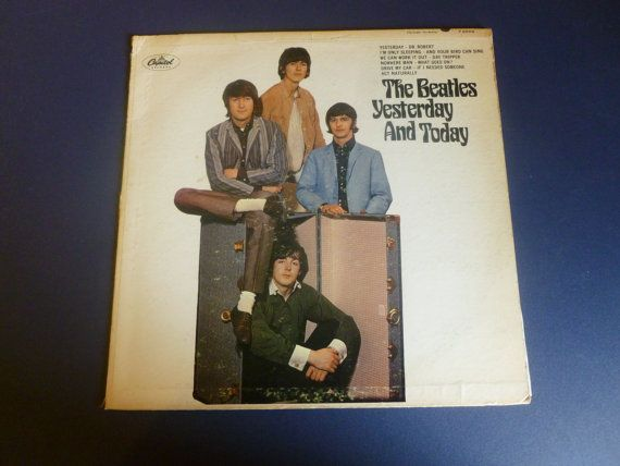 Very Rare LP Album from the Beatles. The record is playable with a few scratches but does not skip. The cover is in good shape with some worn on sides