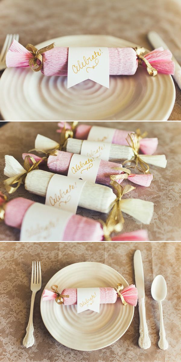 How about making some DIY candy poppers for your #wedding?