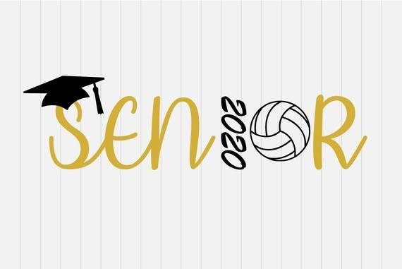 High School Graduation 2020.Senior Volley Ball 2020 Senior 2020 Svg Graduation Svg