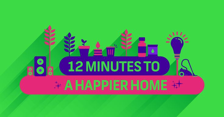12 Minutes To A Happier Home  #lookup #housingacres