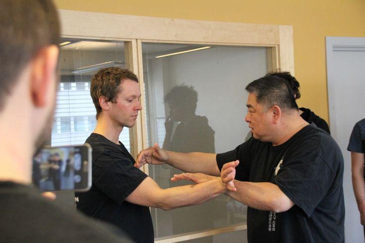 Grand Master Sam F.S. Chin - Norway 2016 - I Liq Chuan
