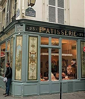 Patisserie where Carmelita apprenticed, Left Bank Paris
