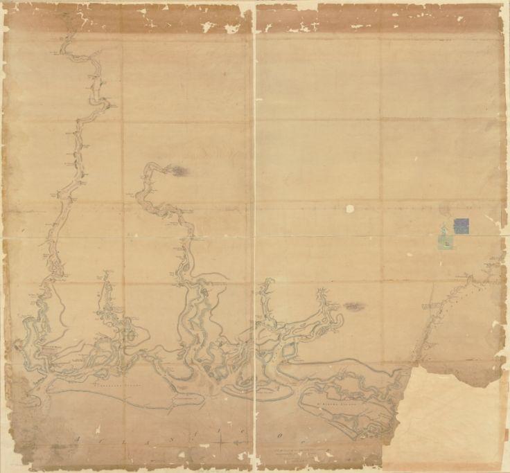 1780s Map of Coastal Georgia 39 best