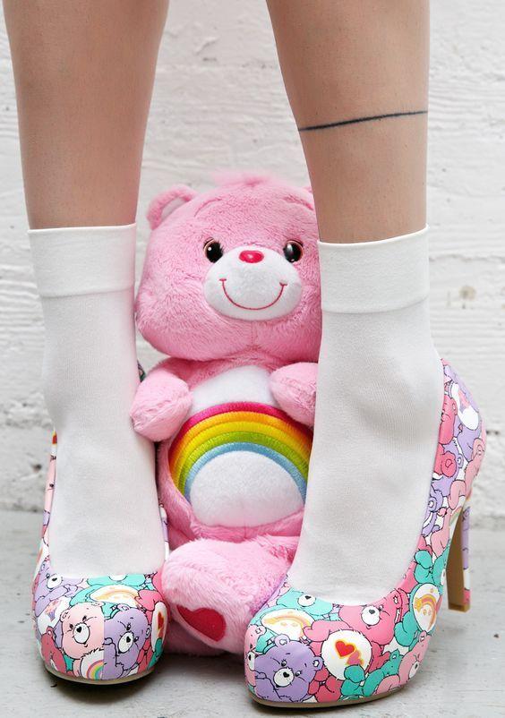 Iron Fist Grin & Bear It Heels | ♡ { (◑﹏◑) Kawaii Land } ♡ | Pinterest | Cute Kawaii Shop | Pinterest
