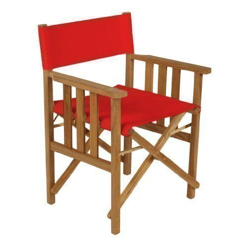 Directors Chair Replacement Waterproof Covers in Red
