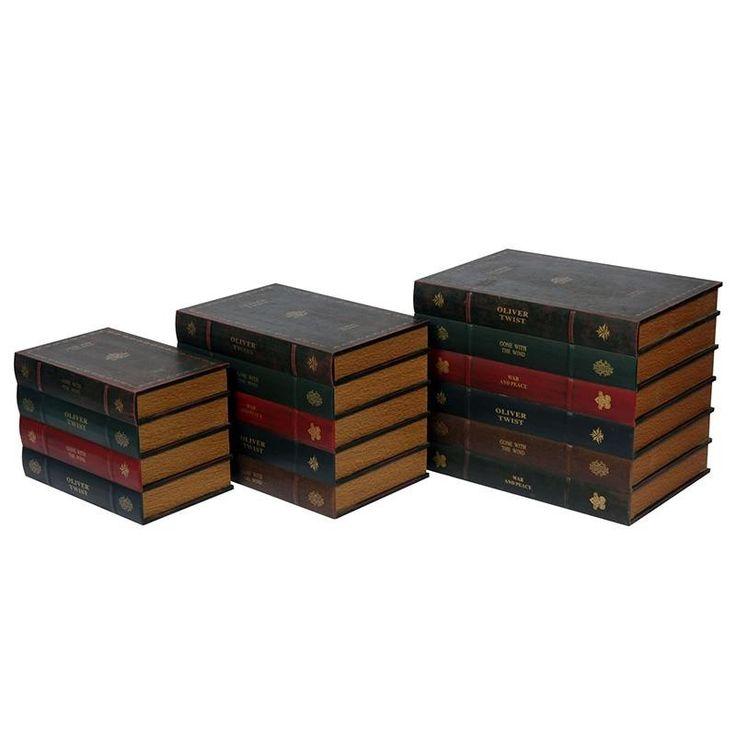 Storage Box Set Of 3 - Chests - FURNITURE - inart