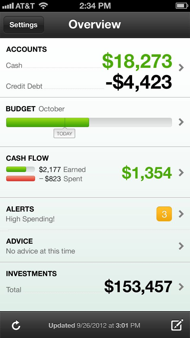 Excellent financial tracking and budgeting apps. Once I get my NEW phone(since iPhone 3 can no longer download apps :/), I'm getting one of these.