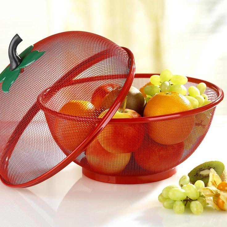 2dílný košík na ovoce, červená | Magnet 3Pagen #magnet3pagen #magnet3pagen_cz #magnet3pagencz #3pagen #decoration