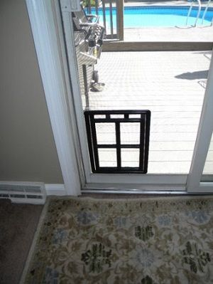 Lockable Sliding Screen Door With Dog Door God Sliding