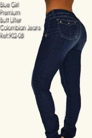 Blue Girl Premium Butt Lifter Columbian Jeans/ Levanta Cola