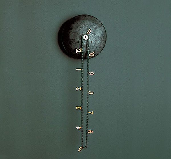 clock.: Idea, Cool Clocks, Catena Wall, Cool Wall, Price Tags, Wall Clocks, Awesome Things, Products, Ticking Tock