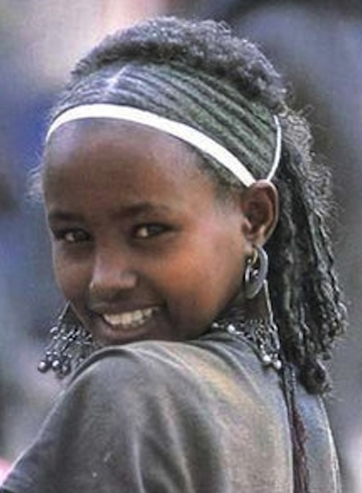 What a beautiful young lady! Oromia, Ethiopia, Africa.