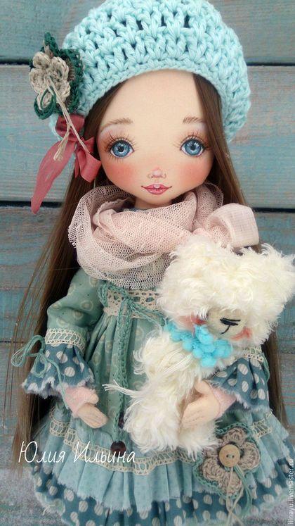 Коллекционные куклы ручной работы. Текстильная кукла. Юлия Ильина. Интернет-магазин Ярмарка Мастеров. Кукла ручной работы