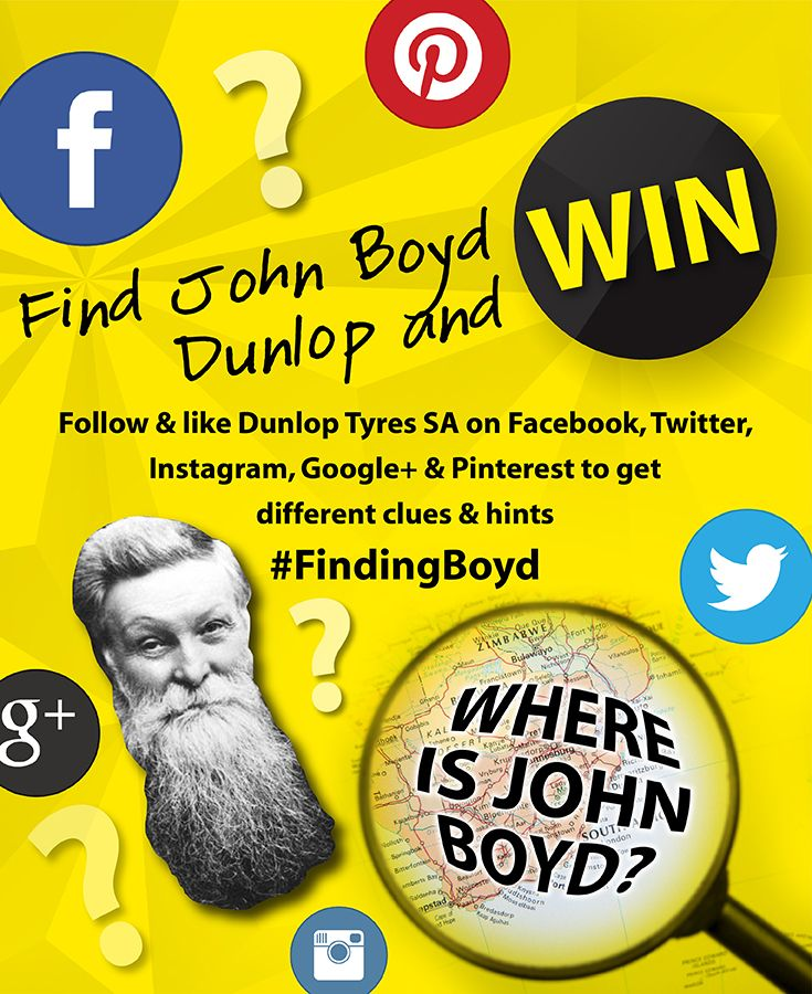 #FindingBoyd Pinterest clues are up! If you think you know where John Boyd is this week, click on the photo to enter his location. Good luck!