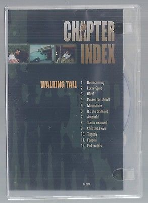 DVD - WALKING TALL - Region 1 1973 Movie Video Joe Don Baker Elizabeth Hartman