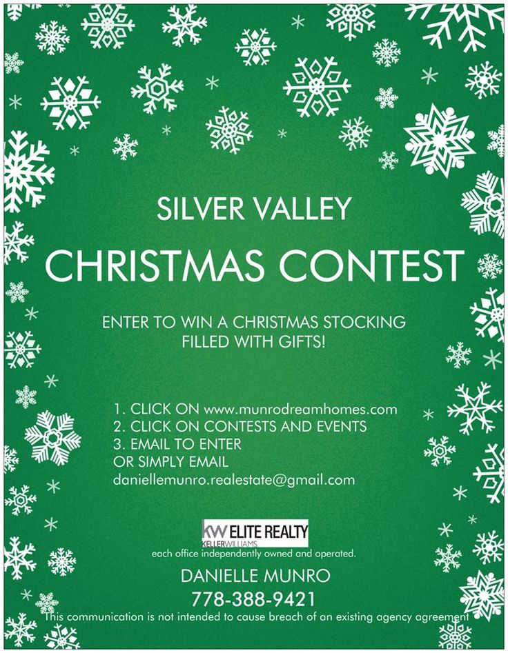 Document Preview Christmas contests, Online printing