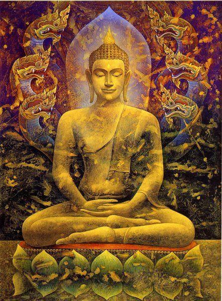 """Aquí les dejamos algunos pensamientos del Buda Gautama (Siddhartha Gautama): """"No creas en nada simplemente porque lo diga…"""