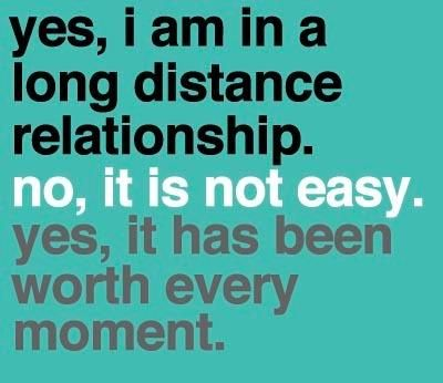 Long distance dating does it work