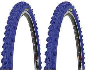 2 x 26 x 1.95 Fahrradreifen MTB KENDA Mountainbike Reifen rot, blau, gelb