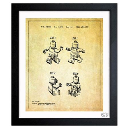 LEGO print!: Toys, Framed Art, Oliver Gal, Kid, Room