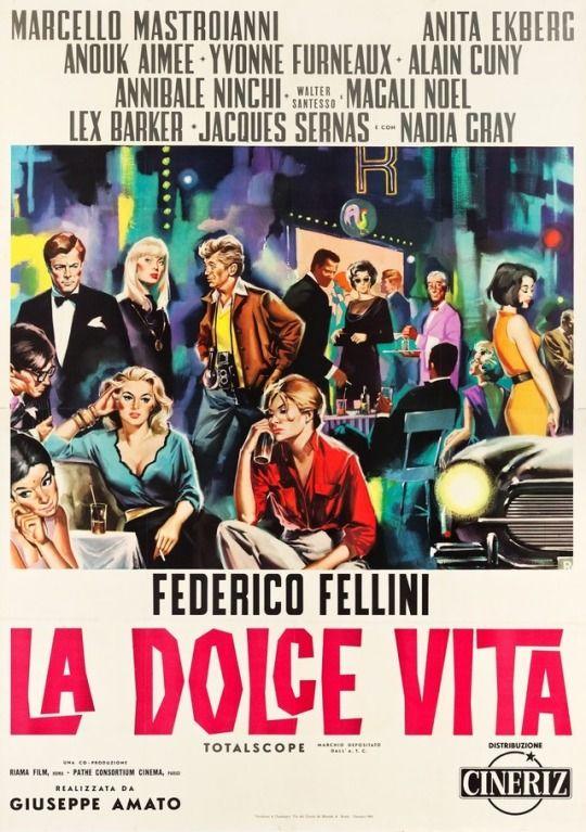LA DOLCE VITA - Italian Poster by Sandro Symeoni