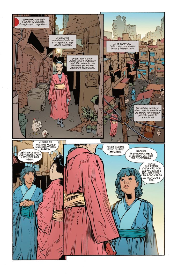 Leer Comics Online : Katana 1 - El modo de los Outsider