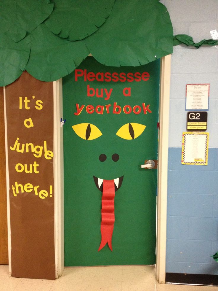 Jungle+Theme+Classroom+Door | don't know about you, but I am so ready for the weekend!