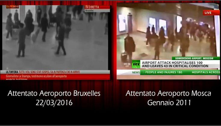 Attentato a Bruxelles – I filmati sono FALSI, ecco le prove schiaccianti