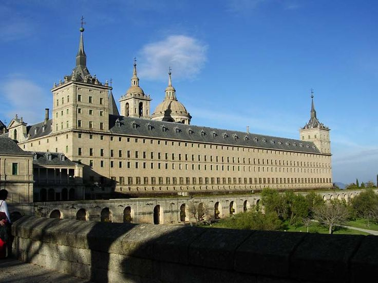 """The Royal Site of San Lorenzo de El Escorial, commonly known as El Escorial, (official name: Monastery & Site of the Escorial, Madrid) is a historical residence of the King of Spain, in the town of San Lorenzo de El Escorial, northwest of the capital, Madrid, Spain. As Spanish royal sites, they function as a monastery, royal palace, museum, & school. 