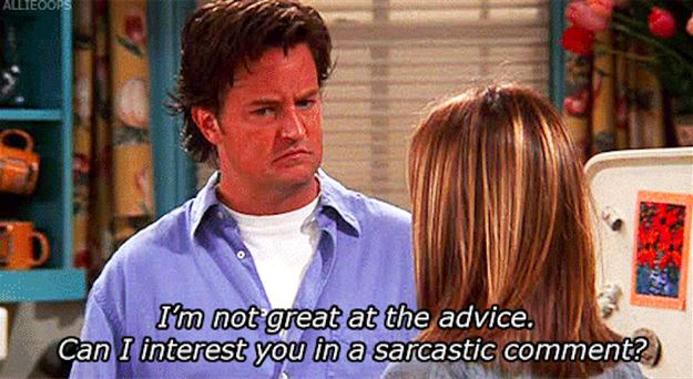 """The """"Sorry, I Can't Really Turn The Sarcasm Off"""" Face. 