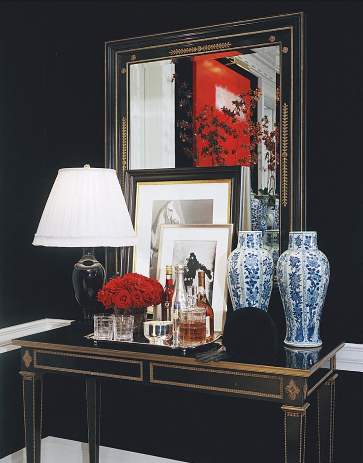 Ralph Lauren Home #Noble_Estate Collection 16   Console · Gentleman DecorMirrored  ...